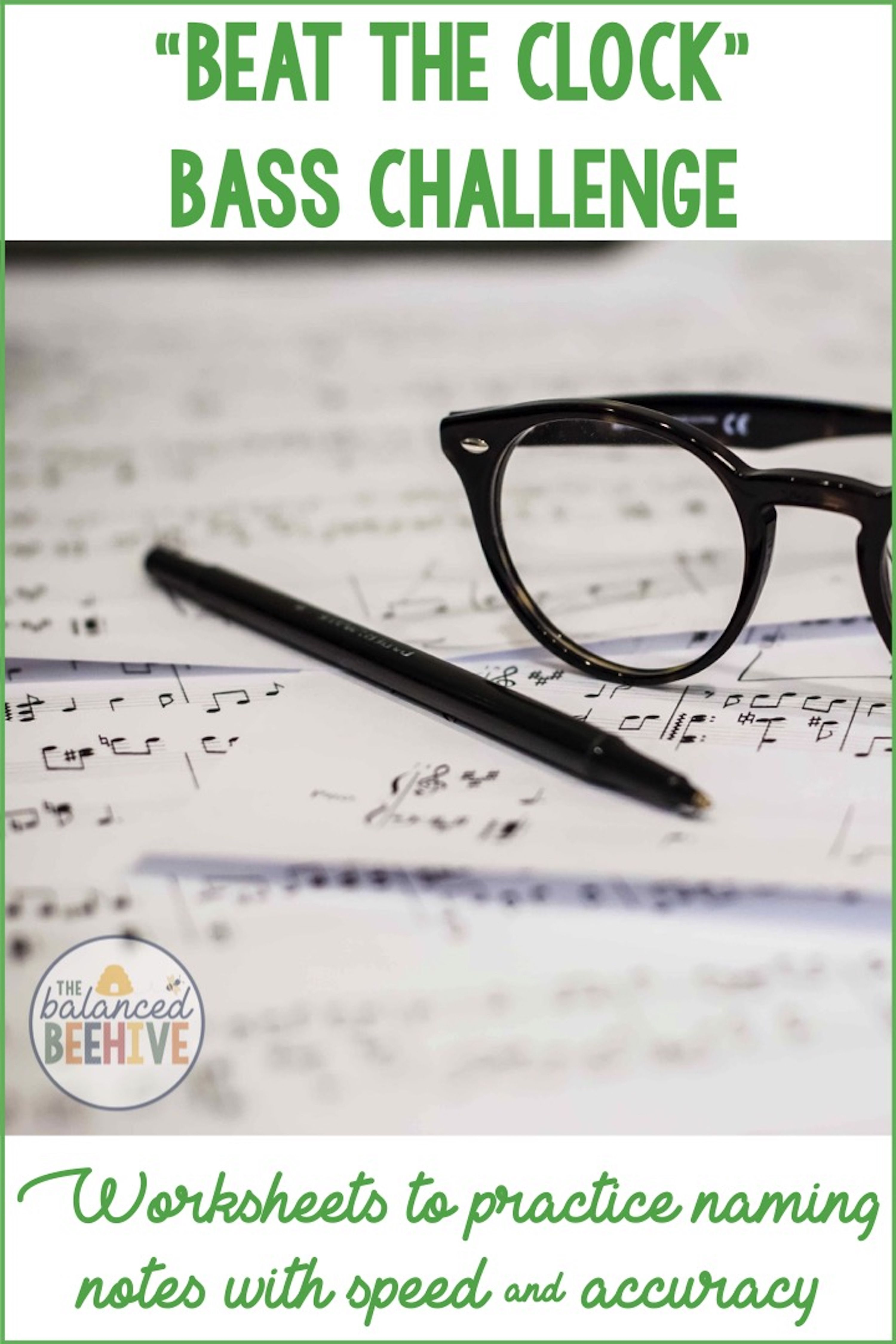 Bass Clef Note Name Worksheets
