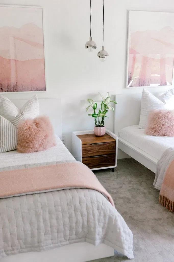 20 Inspiring Twins Bedroom Design Ideas For Your Twins Boy 20 Shared Girls Bedroom Shared Girls Room Twin Girl Bedrooms