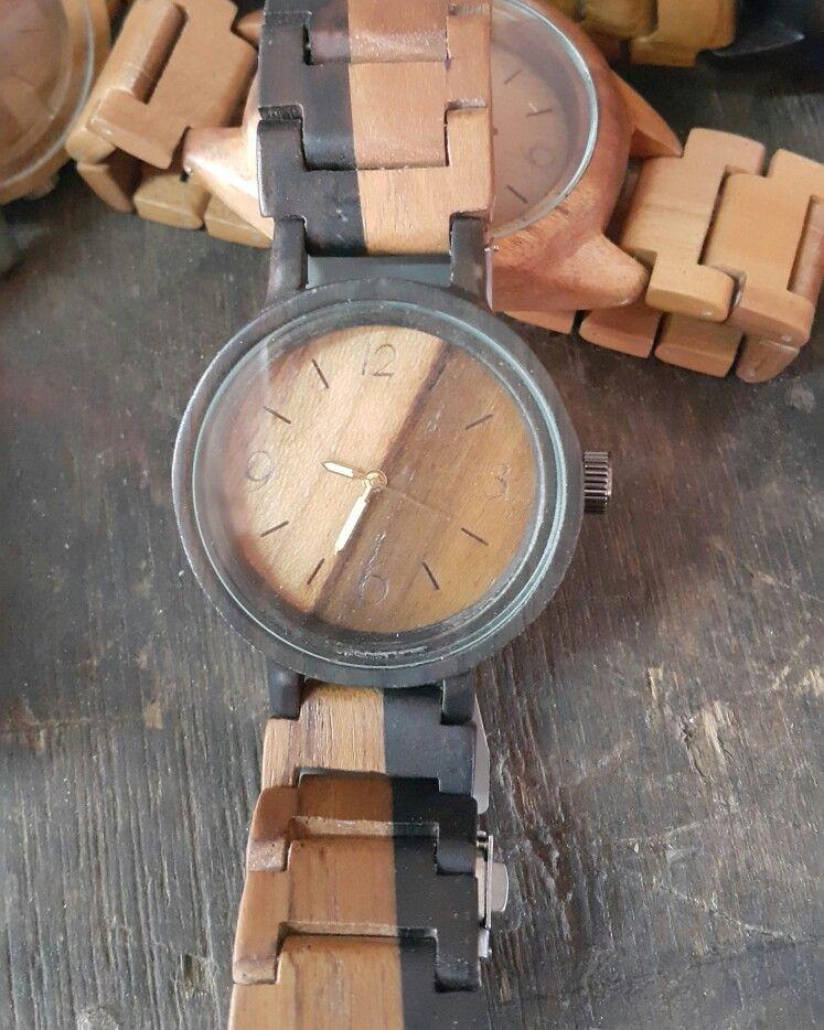 Jam kayu,ebony di 2020 Kerajinan kayu