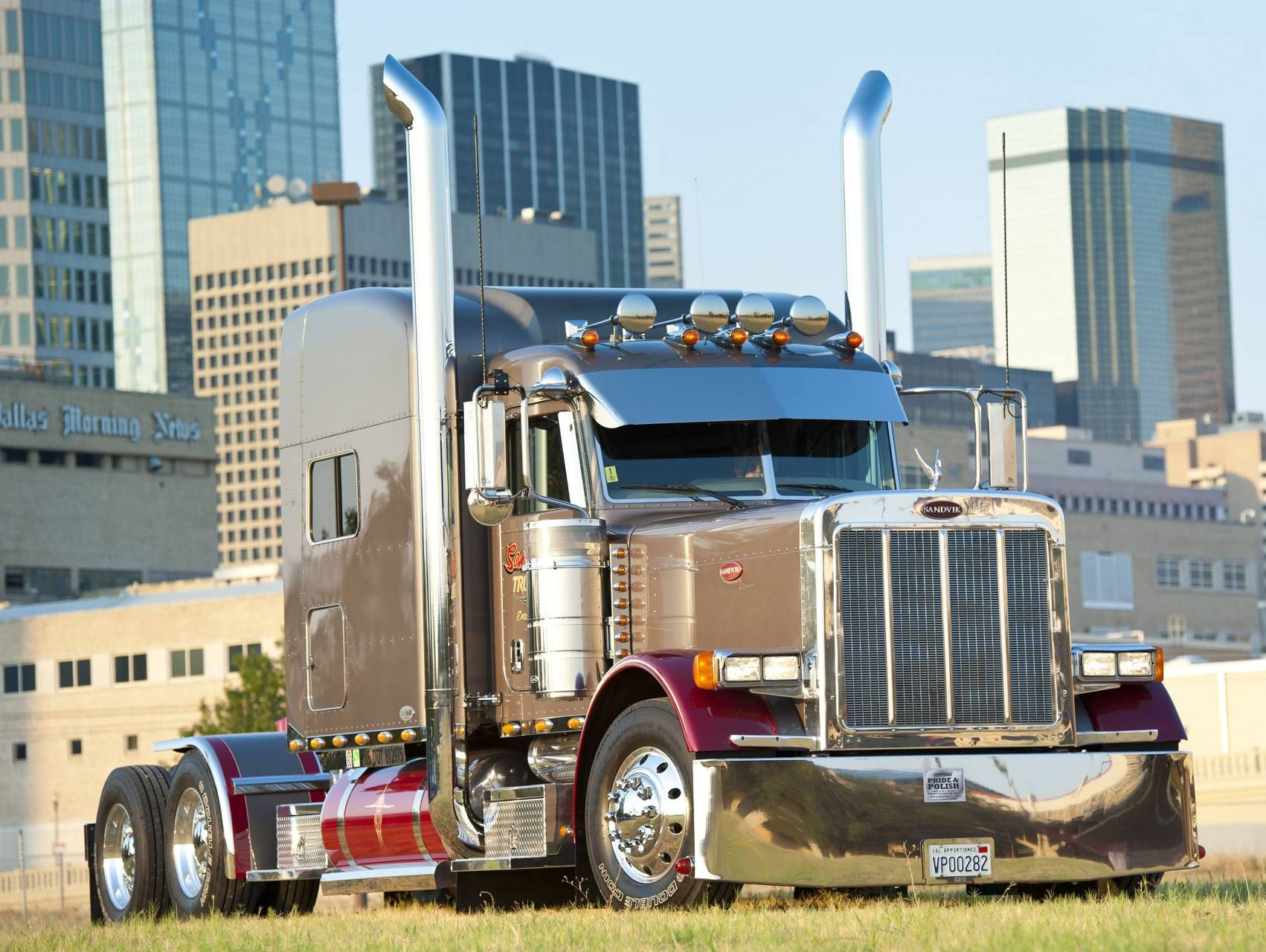 Truck Wallpaper Trucks Peterbilt Peterbilt 379