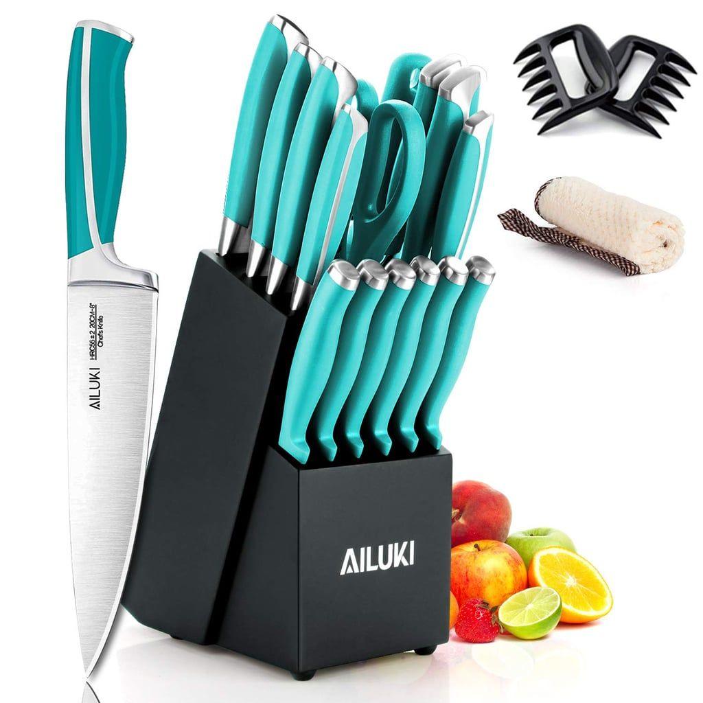 Ailuki 19 Piece Kitchen Knife Set Knife Set Kitchen Knife Sets