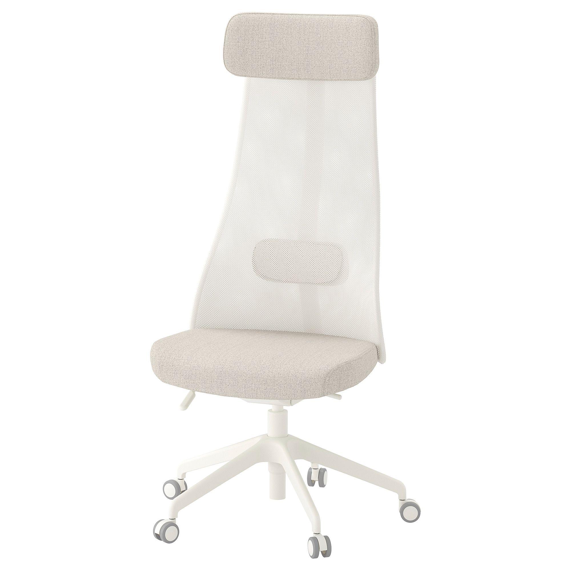 Jarvfjallet Swivel Chair Gunnared Beige Ikea Office Chair