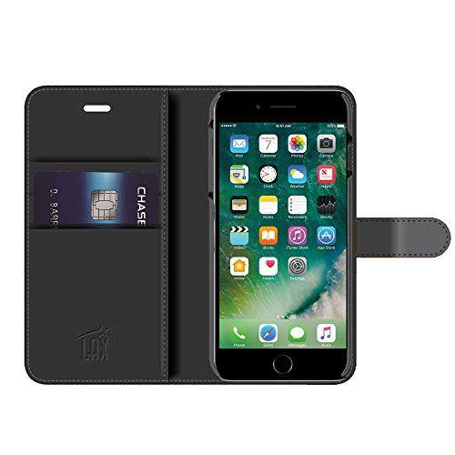 iPhone 7 Case LAX Premium Folio iPhone Wallet Cover for