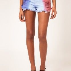 cool cutoffs: denim shorts with added detail