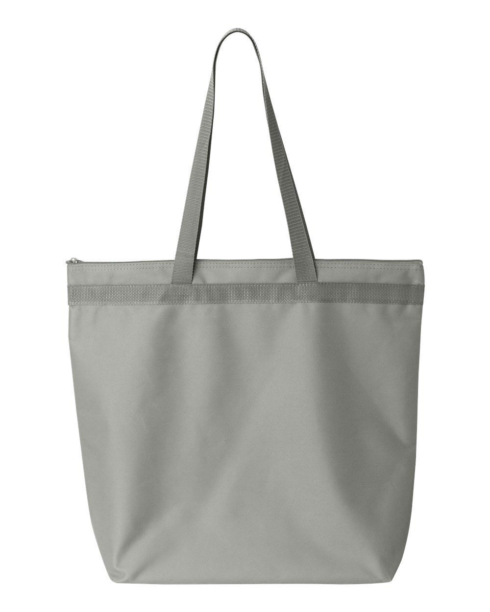 980733021 Liberty Bags - Recycled Zipper Tote - 8802 Grey | On the Go Products ...