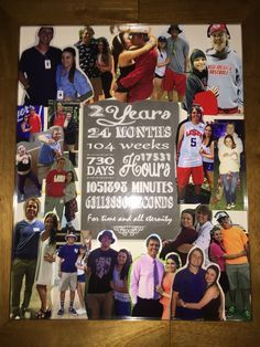 2 year anniversary collage | Anniversary Ideas | Pinterest ...