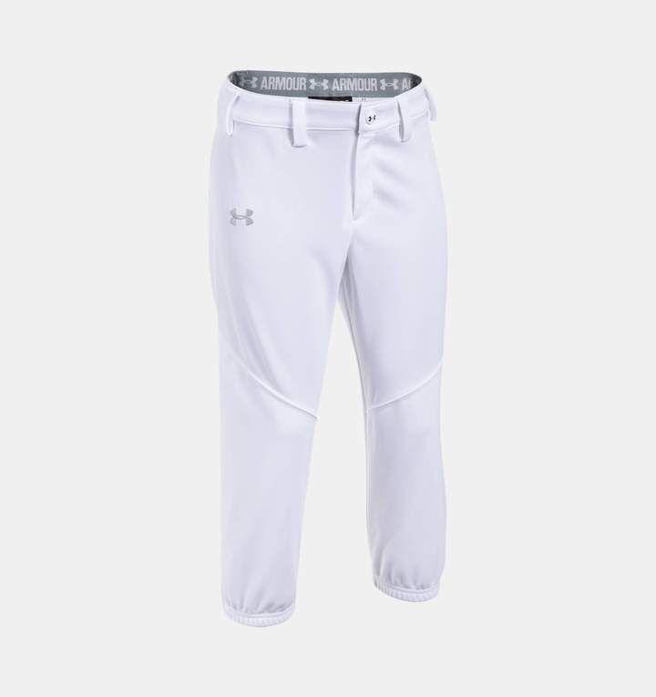 8b26cb7d40 Under Armour Girls' UA Base Runner Softball Pants | Products | Under ...