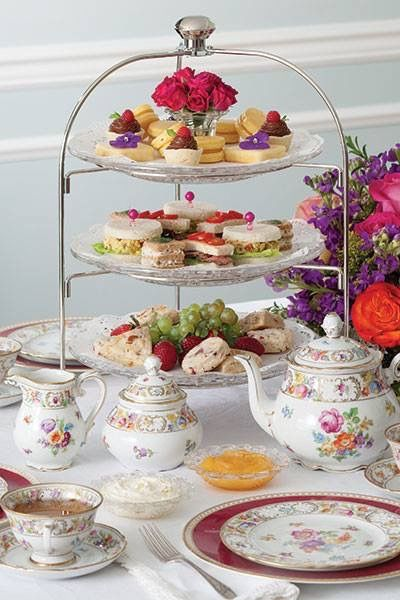 3 Tier Tray English Tea Party Tea Party Food High Tea Party