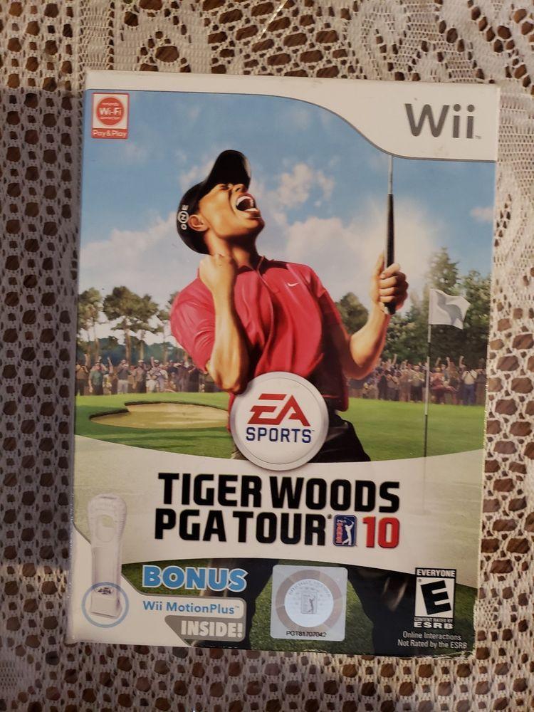 Tiger Woods PGA Tour 10 Wii Motion Plus Bundle Nintendo