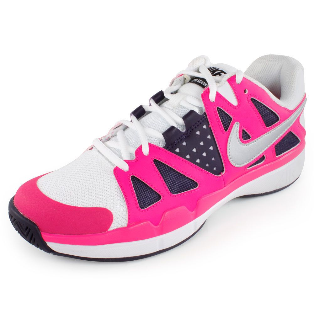 Order the NIKE Women`s Air Vapor Advantage Tennis Shoes in White ...