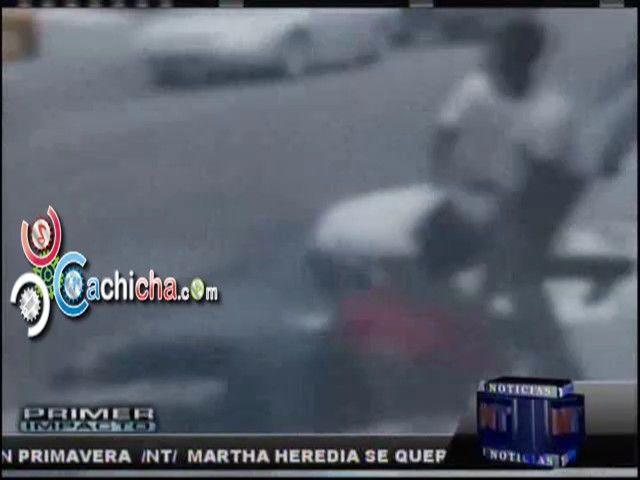 Padre E Hijo Se Enfrentan A La Trompa #Video - Cachicha.com