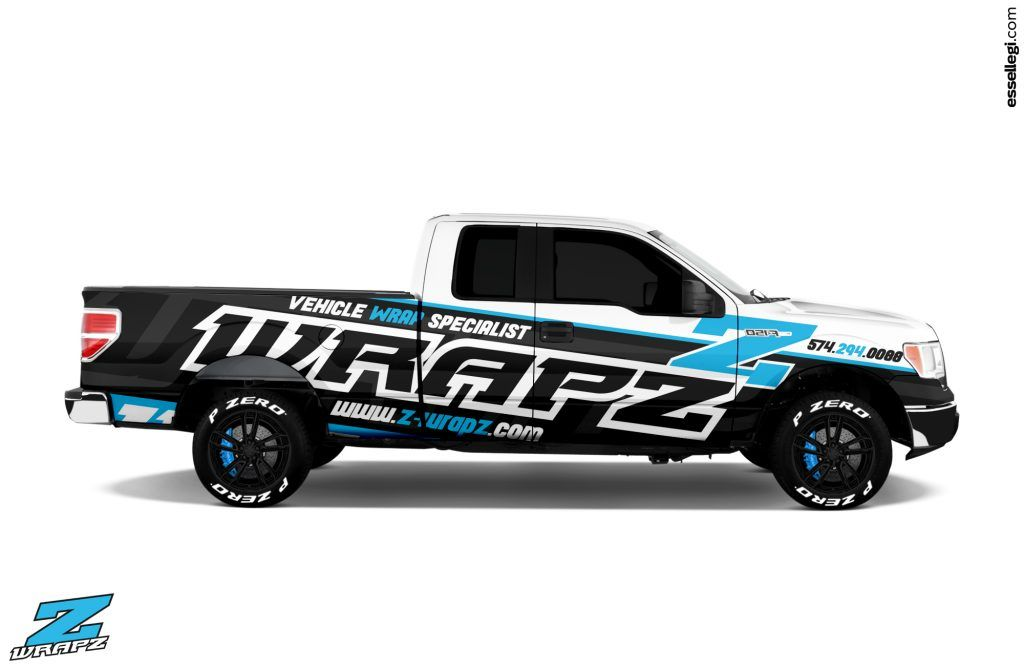 Best Ford F150 Wrap Design For Wraps Banners Graphics Company Ford F150 Vehicle Signage F150