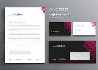 تحميل تصميم ورق رسمي جاهز Corporate Identity Loten Letterhead