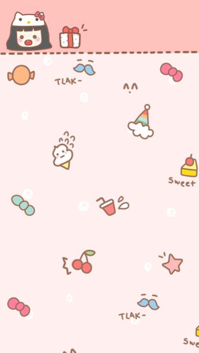 Iphone壁纸 Iphone5壁 来自冰恋糖的图片分享 堆糖 Kawaii Wallpaper Cute Themes Cute Doodles