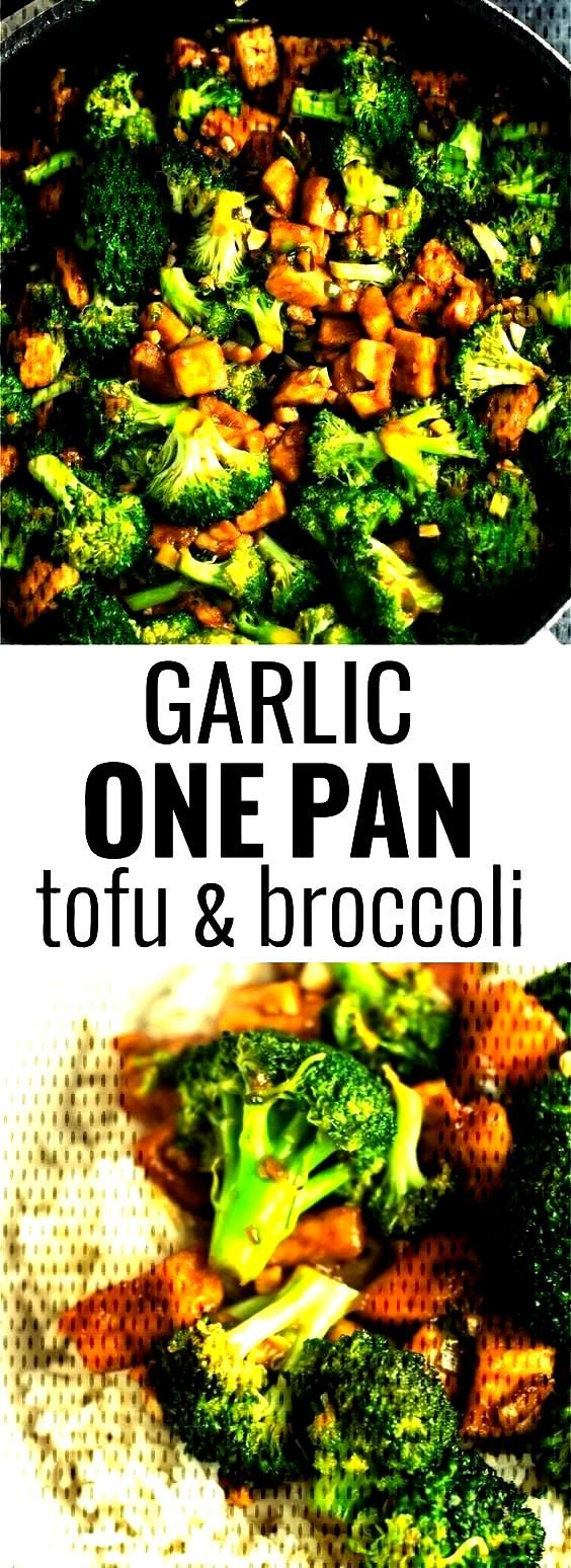 Garlic tofu broccoli skillet recipeYou can find Keto tofu recipes and more on our website.Garlic to