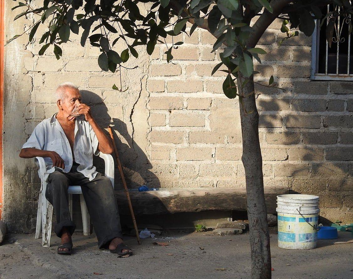 Relaxing in La Manzanilla, Mexico