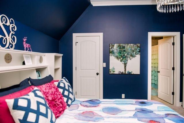 couleur de chambre 100 ides de bonnes nuits de sommeil - Chambre Bleu Marine Et Taupe