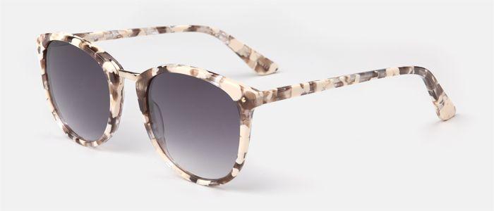comprar baratas 1ecfa 19458 Gafas de sol para mujer, de pasta en color rosa perlado con ...