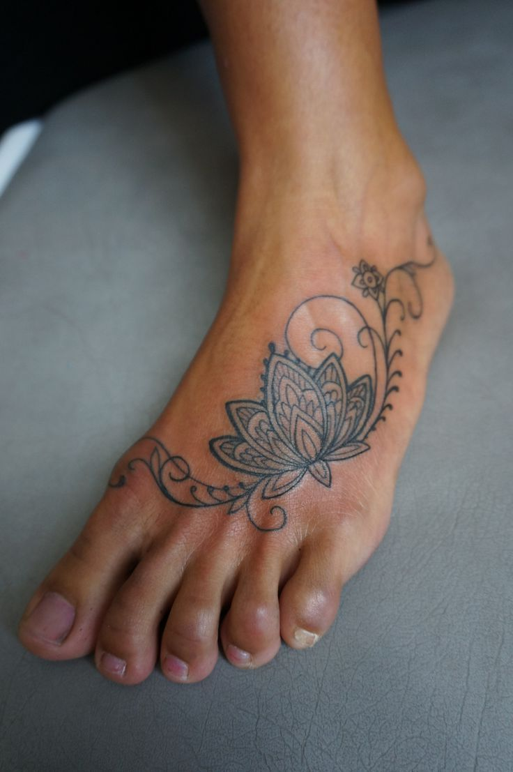 Pin By Jamie Bregy On Tattoos For Women Feet Tattoos Lotus Tattoo