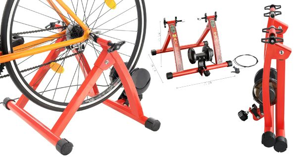 Rad Cycle Products Max Racer Bicycle Trainer Review Indoor Bike
