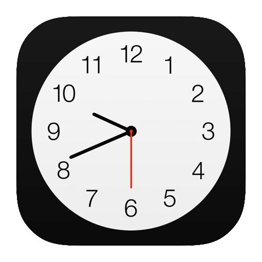 Clock Icon Ios 7 Png Image Clock Icon Clock App Logo
