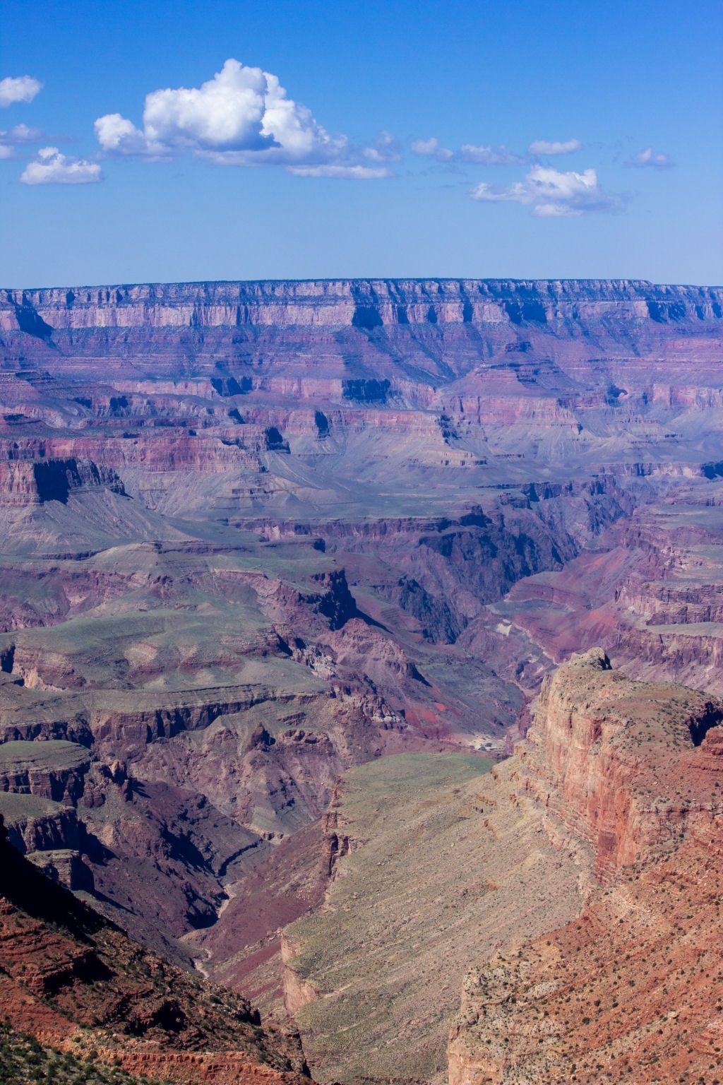 Grand Canyon, um vale foi moldado pelo Rio Colorado durante milhares de anos, Estados Unidos