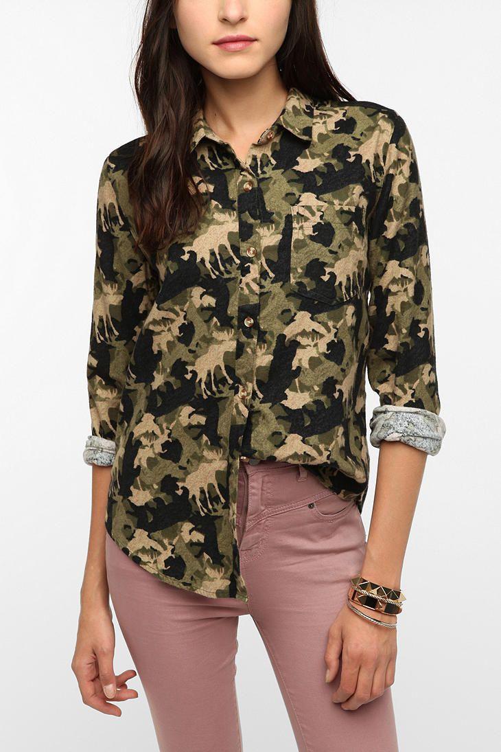 Animal BDG Flannel Shirt