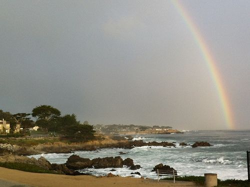 The Pot Of Gold At The End Of The Rainbow Is Monterey County