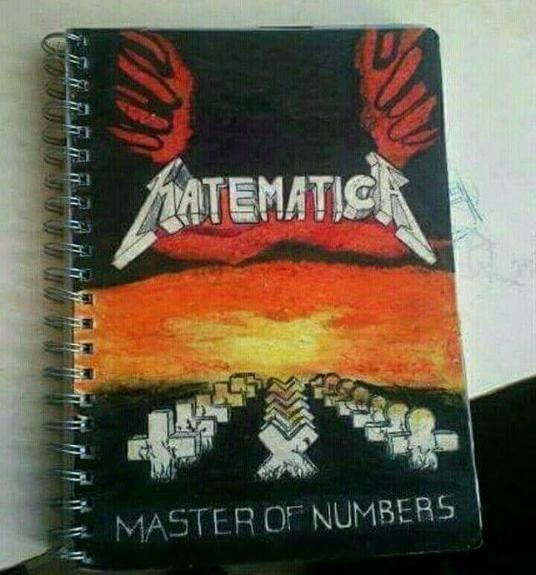 Matematica  #Metallica