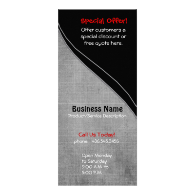 Rackcard design is great for business promotion with it's numbers and export import words. Lower curve is gray checked pattern and black accent border with solid black upper curve. #business #card #card #rackcard #business #professional #sales #retail #words #text #monochromatic #gray #grey #black #classic #elegant #subtle #uniqueprints #customize #template #investments #money