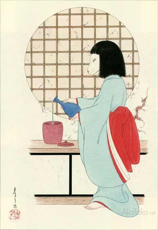 "AkaTako.net from ""Grass Labyrinth"" special edition by Takato Yamamoto"