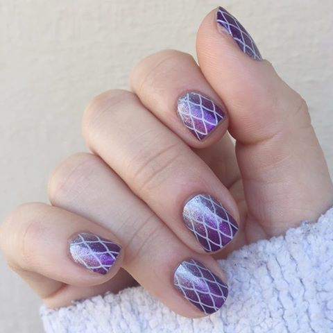 damsel in distress - jamberry nail