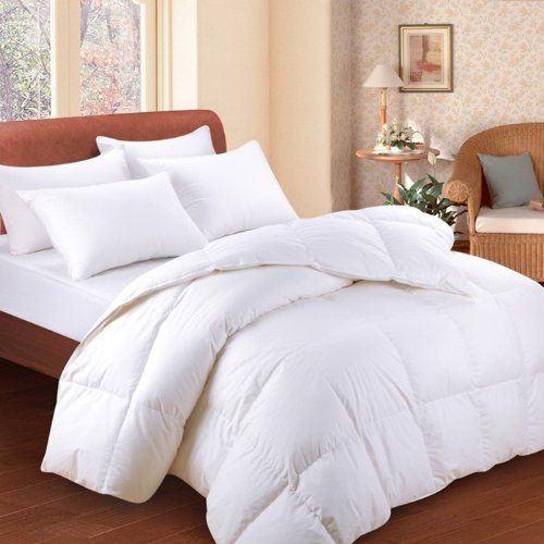 Bedding White Feather Down Bed Comforter Queen Size By Idirectmart Http Www Amazon Com Dp B00545cbjy Ref Cm Sw R Pi Dp Bed Comforters White Down Comforter