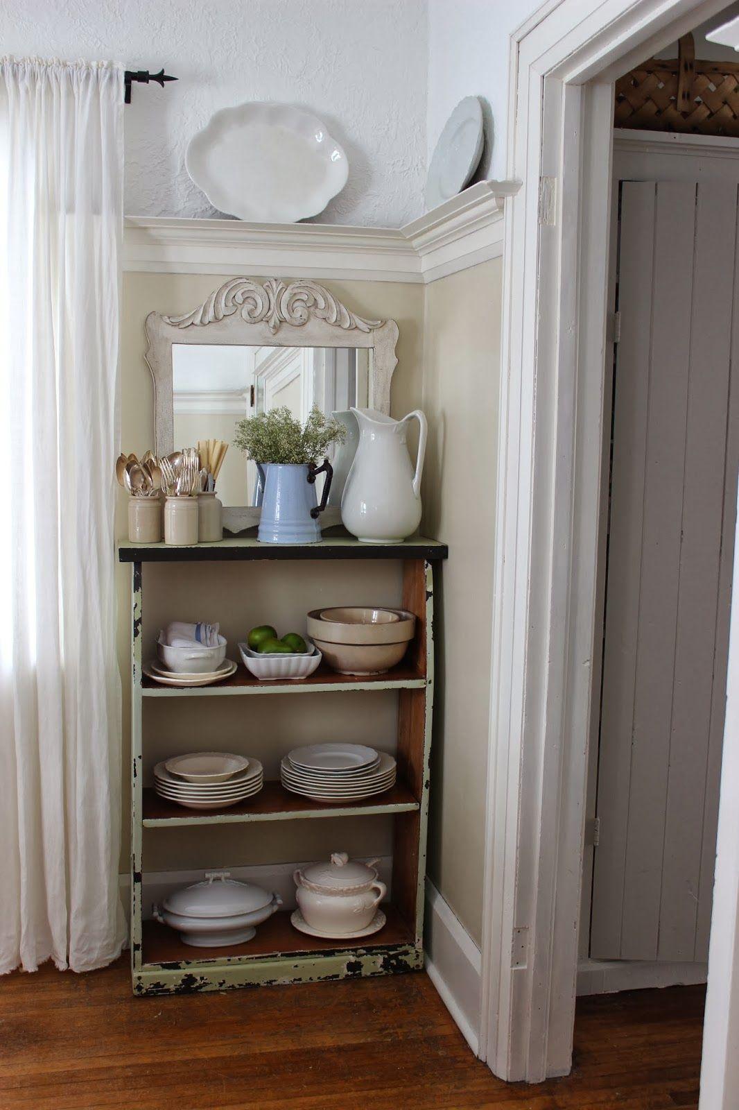 Chair Rail Kitchen Part - 50: Rustic Farmhouse - Love The Chair Rail.
