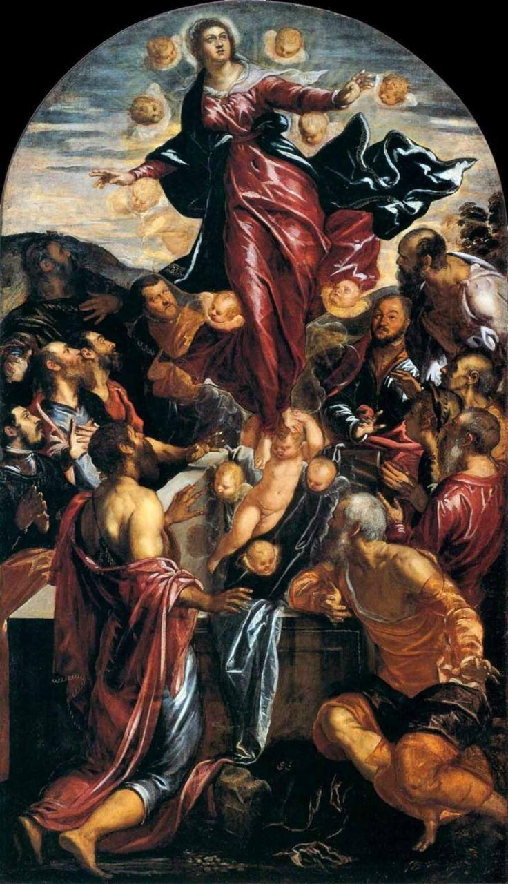 Тинторетто (Якопо Робусти) Успение пресвятой Богородицы 1550