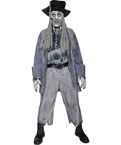 Ghost Adult Mens Smiffys Fancy Dress Costume
