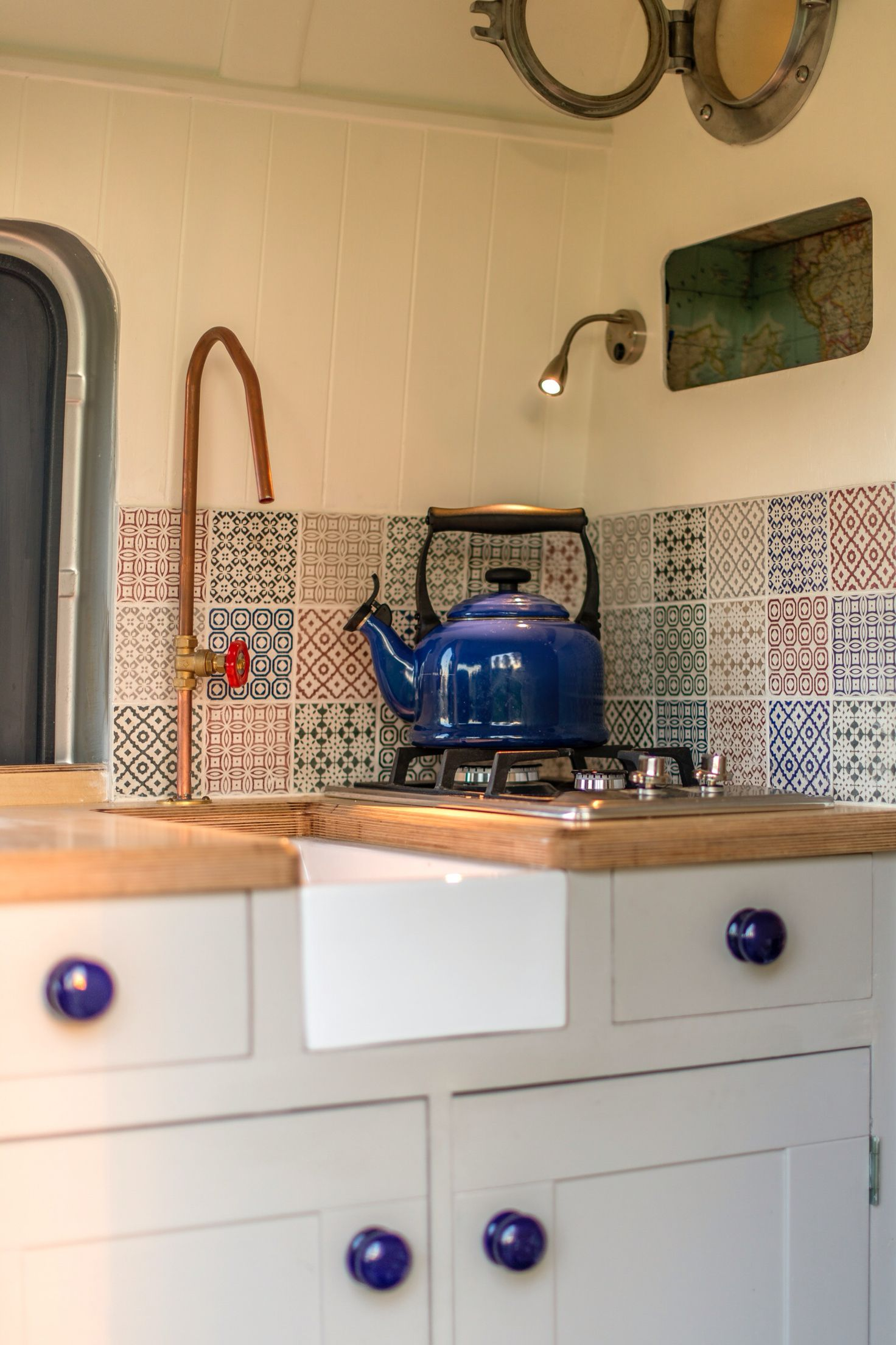 Interior Of Cool Camper Van Conversion At Www Thismovinghouse Co