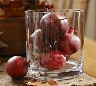 Faux Pomegranate Vase Filler Potterybarn Holidays Pinterest