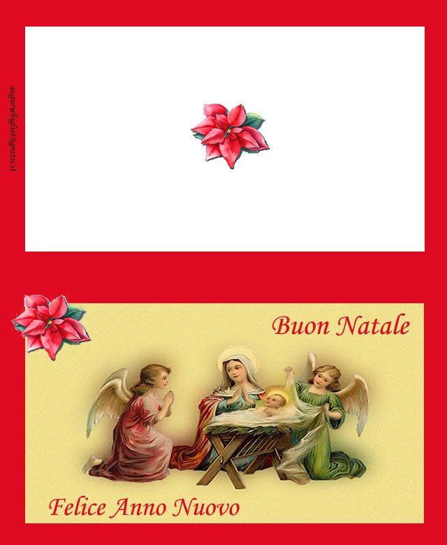 Auguri Per Un Matrimonio Religioso : Biglietti di auguri natale e buon anno