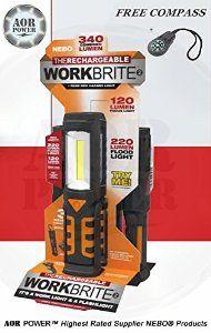 NEBO Workbrite 2 COB LED Work Light