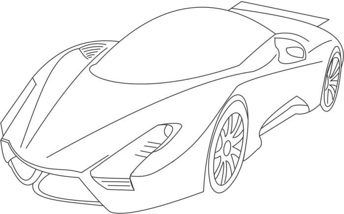 Sport Bugatti Veyron Coloring Page Bugatti Bugatti Veyron