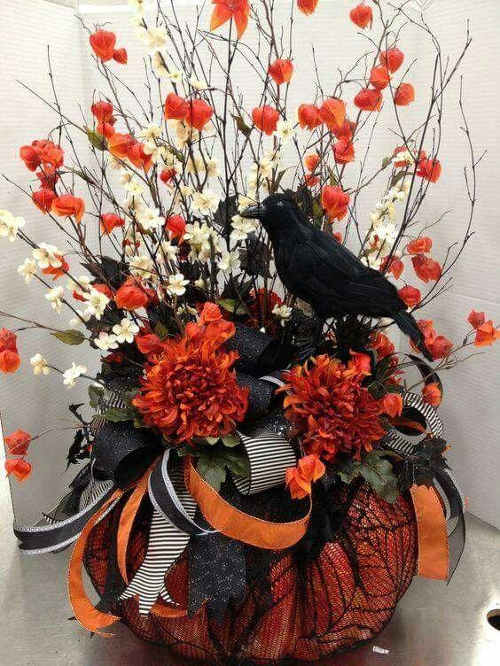 Pin by Janie Hardy Grissom on Halloween Decor Pinterest - halloween decorations on pinterest