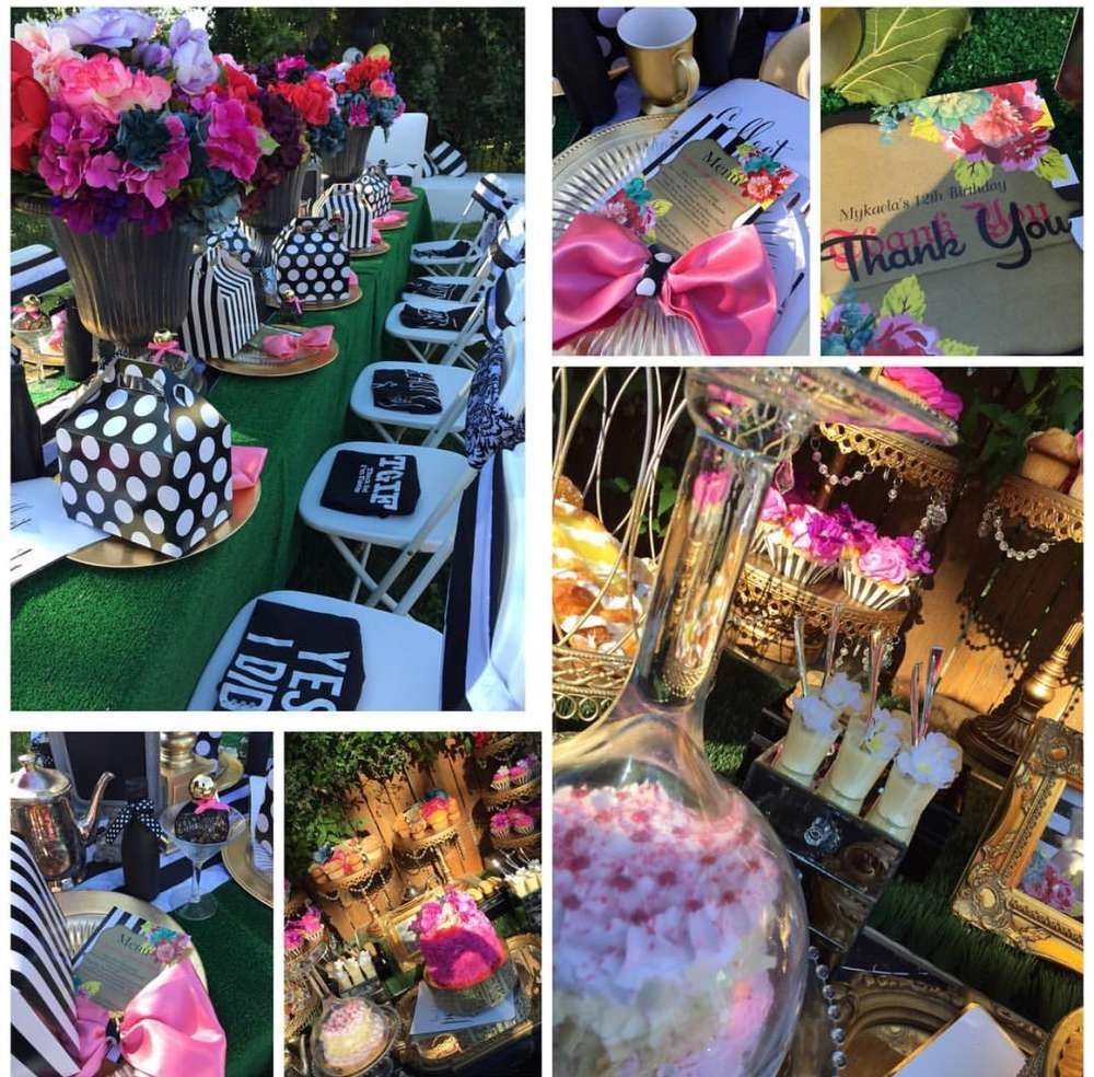 Hosting a birthday party for adults is now more fun than ever! Stunning glam birthday party! See more party planning ...