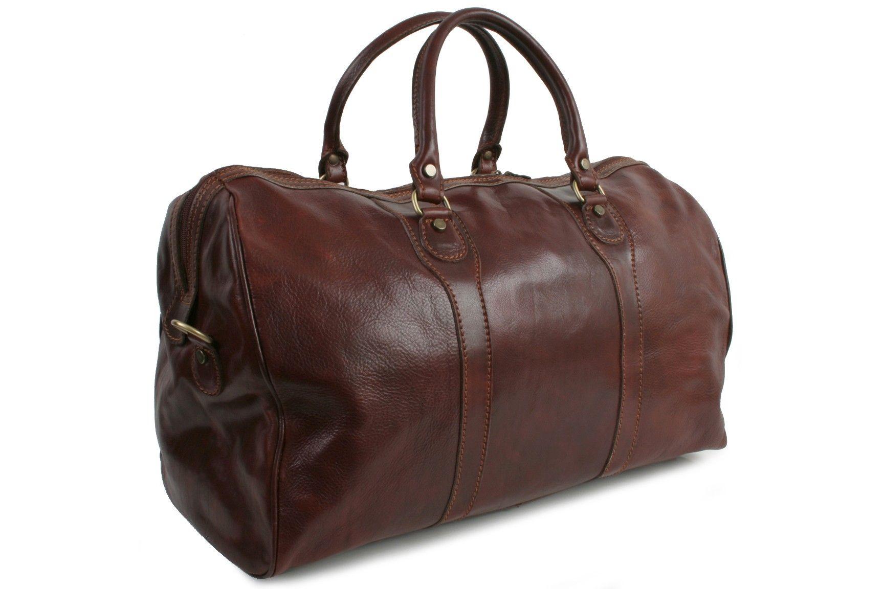 2a0e7274ec Marco Polo black leather travel bag