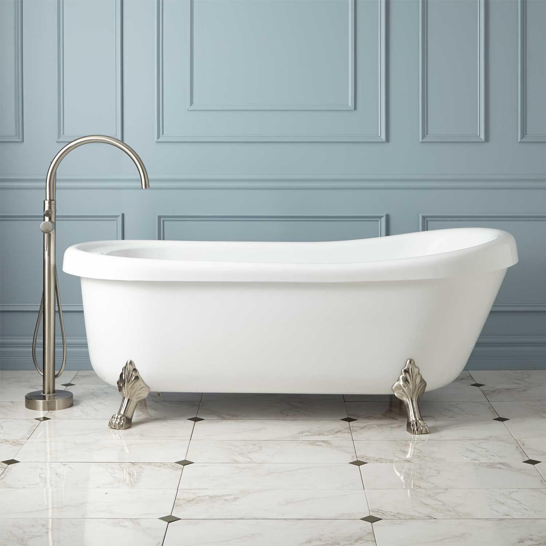 73 Jackson Acrylic Clawfoot Air Tub Tubs Bathtubs Bathroom