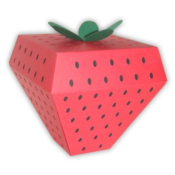5 Small Strawberry Gift Boxes   ~ Strawberry Fields ...