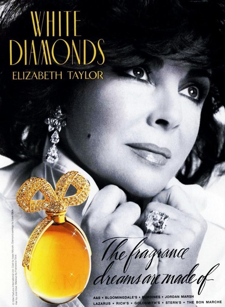 Elizabeth Taylor Perfume White Diamonds Perfume Elizabeth