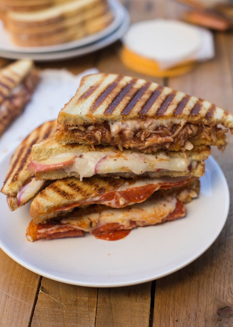 Grilled Cheese Sandwiches Three Easy Ways
