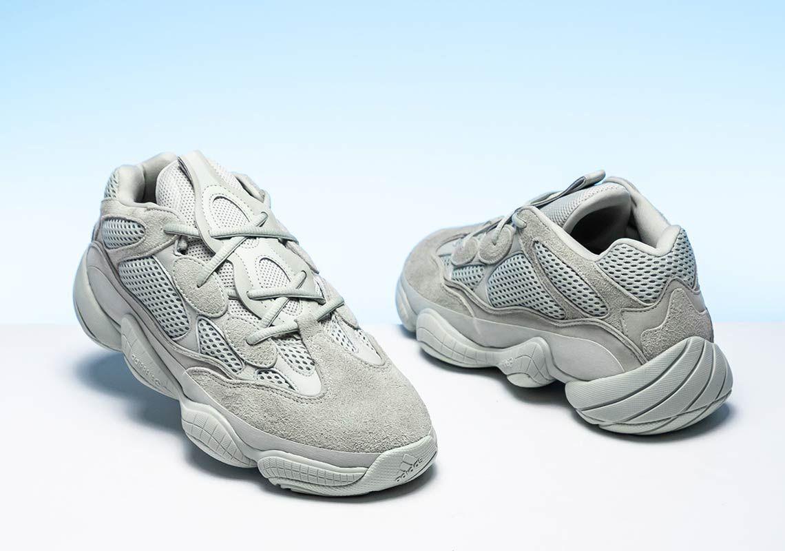 167718df9f7 adidas Yeezy 500 Salt EE7287 First Look