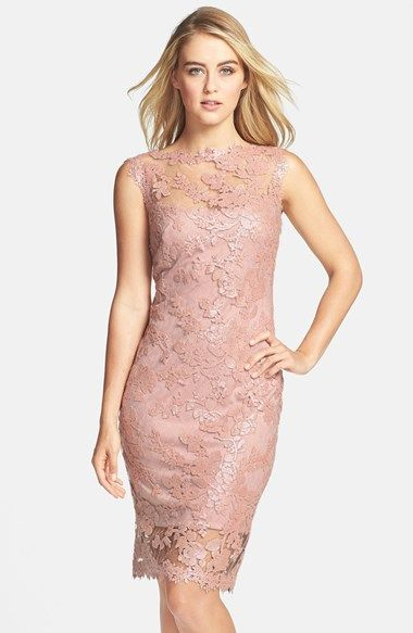 Free shipping and returns on Tadashi Shoji Sequin Illusion Lace Dress (Regular & Petite) at Nordstrom.com. The always-chic bateau-neck sheath is elevated to black-tie glam in shimmery sequin-embroidered lace left sheer at the yoke and hem.